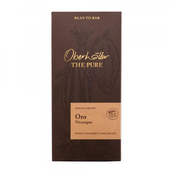 Oberhöller | Oro Nicaragua 80% | 70g | Bean to Bar Schokolade