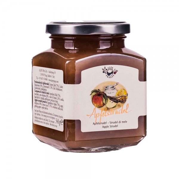 Alpe Pragas Apfelstrudel Fruchtaufstrich 75% 335g