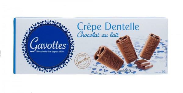 Gavottes Crepe Dentelle Chocolat Lait Milchschkolade
