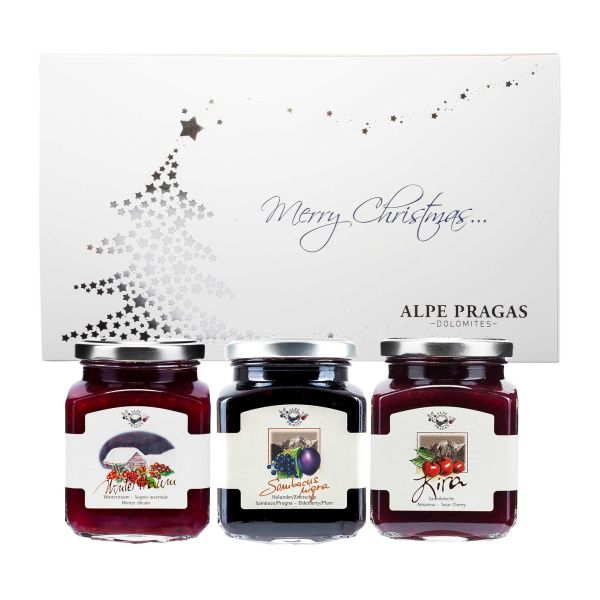 Alpe Pragas   Konfitüren Geschenkset   Weihnachten