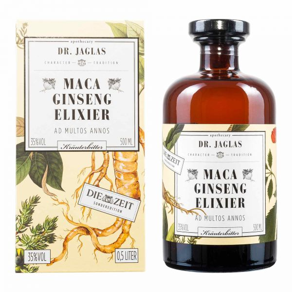 Dr Jaglas | Maca Ginseng Elixier | 500ml
