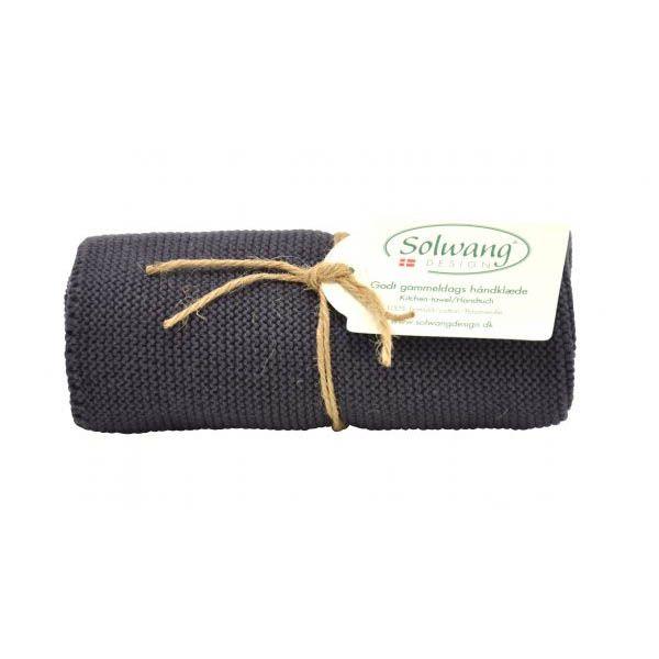 Solwang   Handtuch   Warm Dunkel Grau   H87