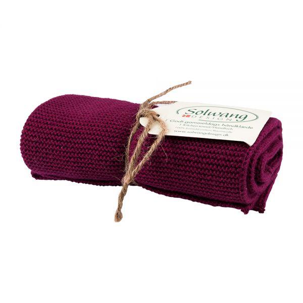 Solwang | Handtuch | Dunkel Bordeaux Rot | H79