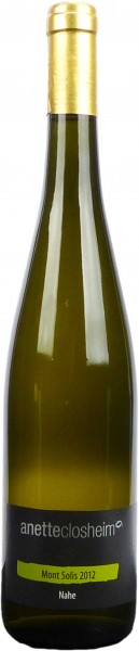 Anette Closheim Riesling Mont Solis 2015