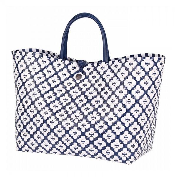 Handed by Tasche | Motif Bag navy
