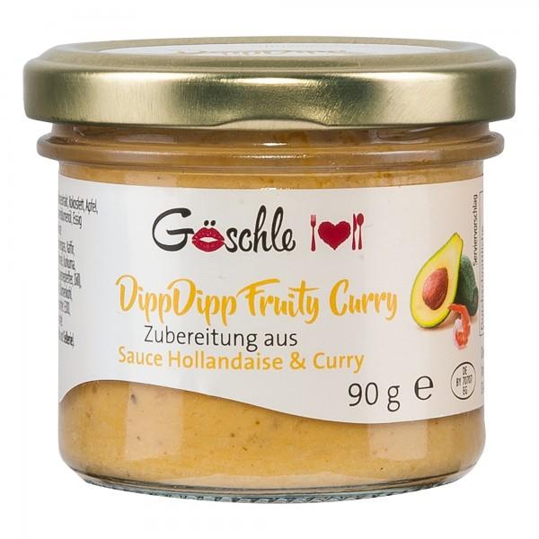 Die Trüffelmanufaktur   DippDipp Fuity Curry   90g