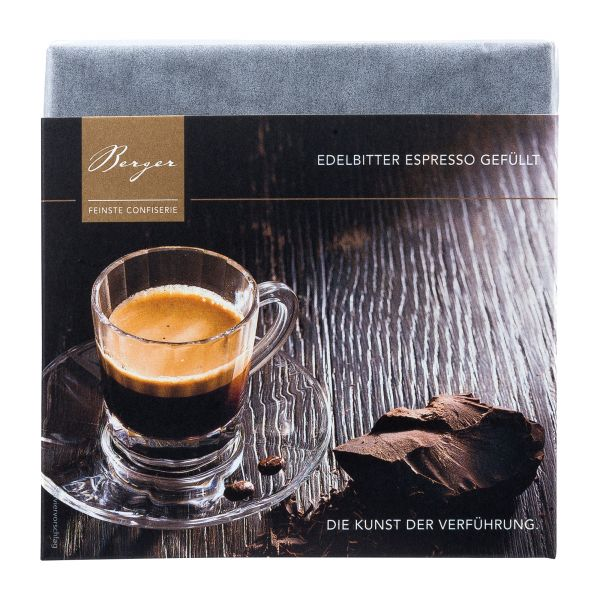 Berger Schokolade | Zartbitter Espresso