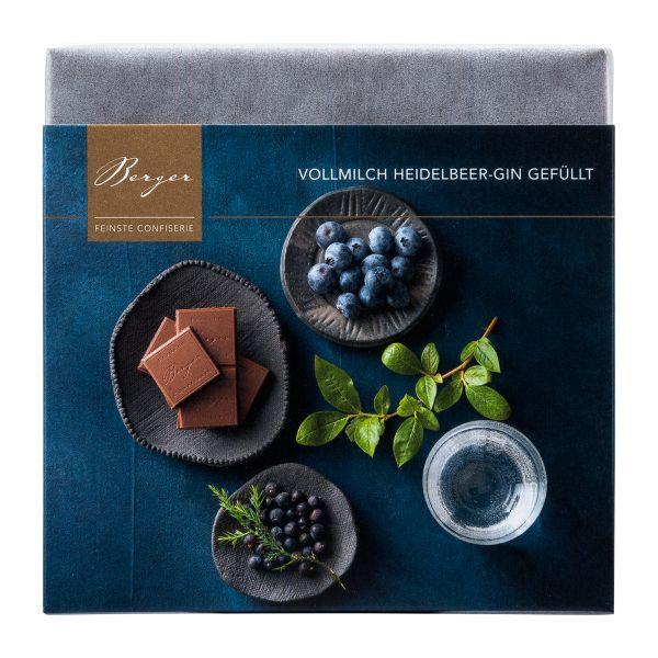 Berger Schokolade | Vollmilch Heidelbeer Gin [FAIR]