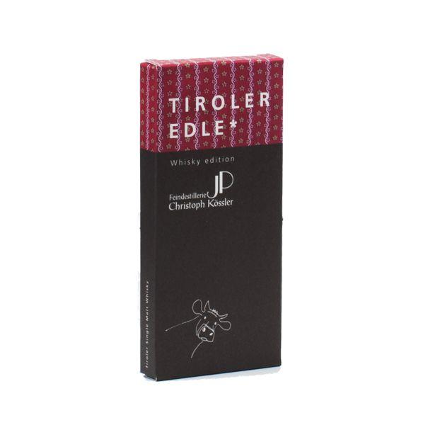 Tiroler Edle   Schokolade mit Whisky