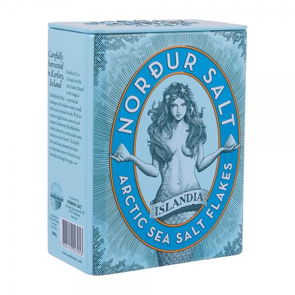 Nordur Salt | Meersalzflocken in Metalldose