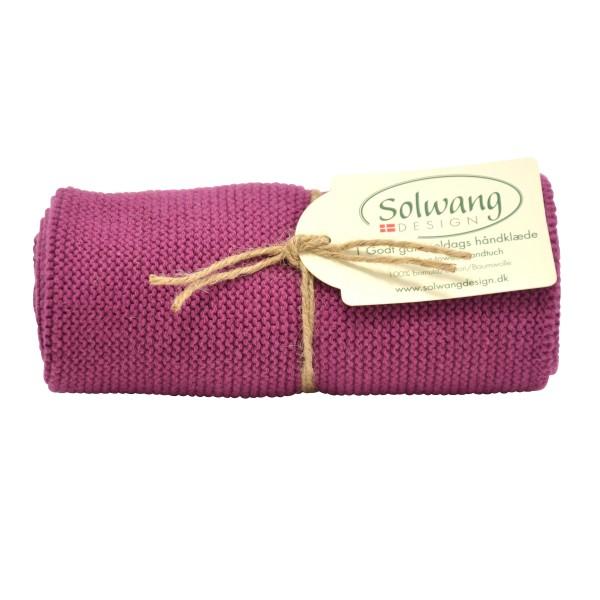 Solwang | Handtuch | Pflaume | H66