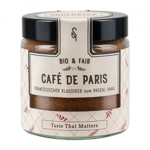 Soul Spice Gewürze   Café de Paris 50g [BIO] [FAIR]