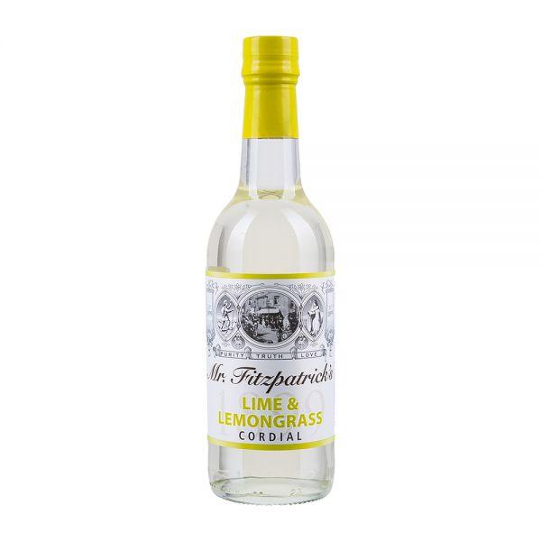 Mr Fitzpatricks   Limettensirup mit Zitronengras   alkoholfrei