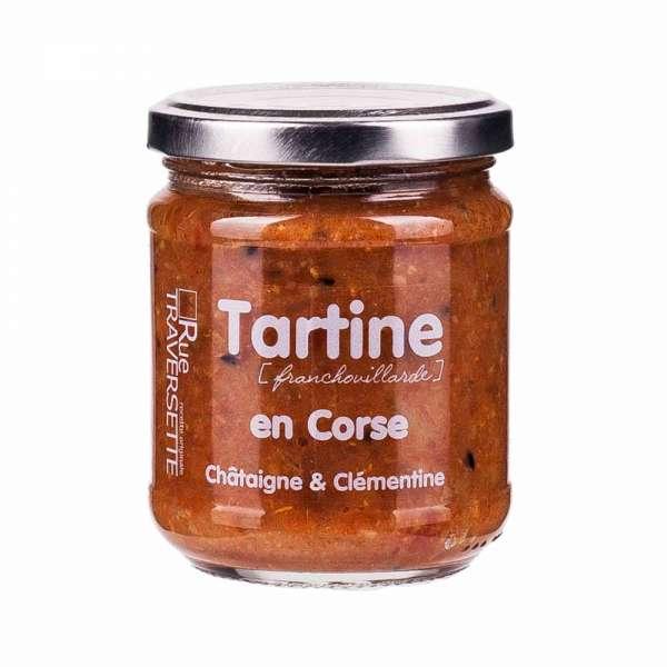 Rue Traversette Tartine Corsika Kastanie und Clementine