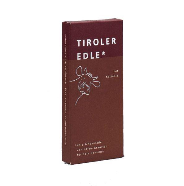 Tiroler Edle | Milchschokolade mit Kastanien