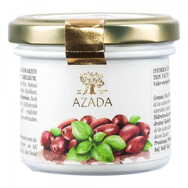 Azada | Paté aus schwarzen Oliven und Basilikum | 100g