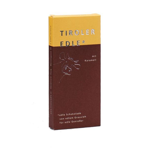 Tiroler Edle   Schokolade mit Karamell