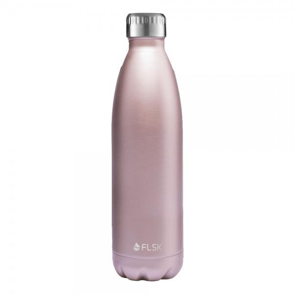 Flsk Trinkflasche Roségold 750ml
