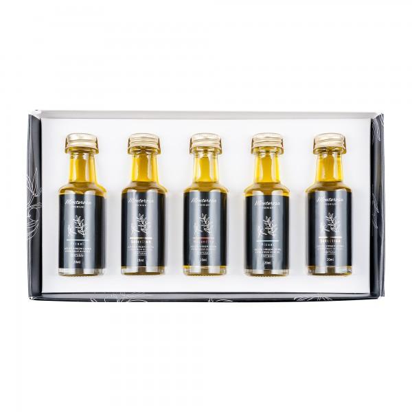 Monterosa | Olivenöl Geschenk Set | Tasting Kit