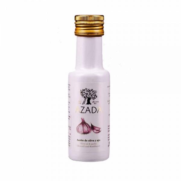 Azada Olivenöl Extra Nativ mit Knoblauch 100ml
