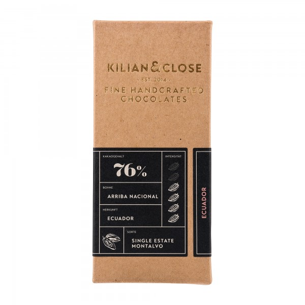 Kilian & Close 76% Schokolade Ecuador