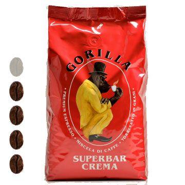 Gorilla Kaffee   Superbar Crema   Rot   1kg