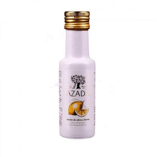 Azada Olivenöl Extra Nativ mit Zitrone 100ml