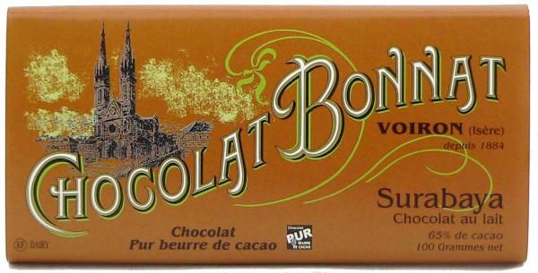 Bonnat Schokolade Surabaya Lait 65%