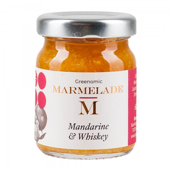 Greenomic Marmelade | Mandarine & Whiskey 60g