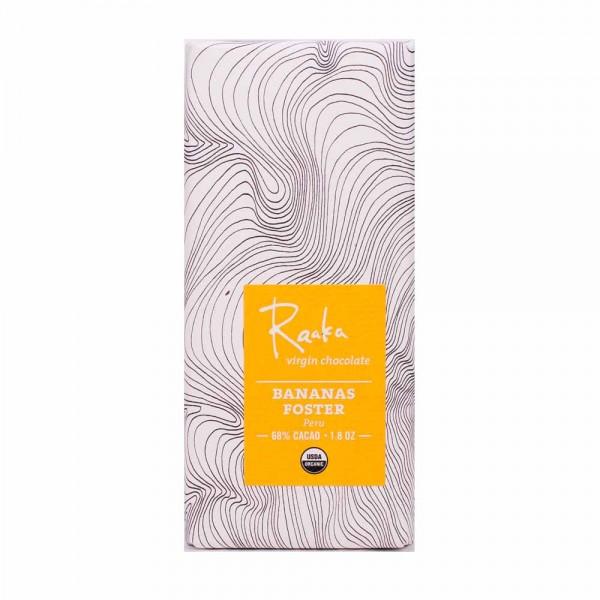 Raaka Chocolate Bananas Foster Peru 68%