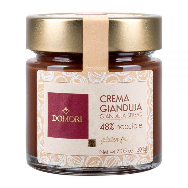 Domori Schokolade | Crema Gianduja | Haselnusscreme | 200g