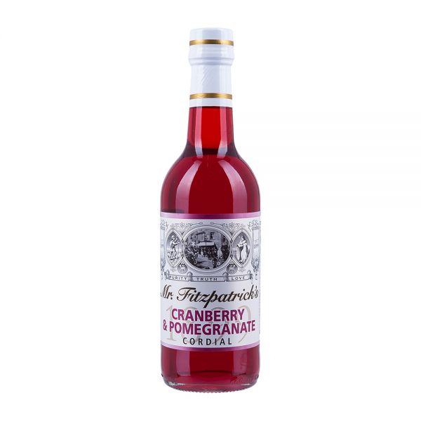 Mr Fitzpatricks   Granatapfel Sirup mit Cranberry   alkoholfrei
