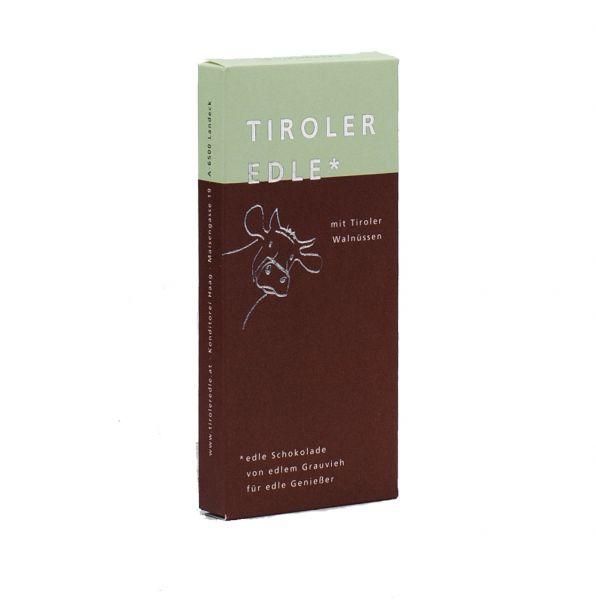 Tiroler Edle | Schokolade mit Tiroler Walnüssen