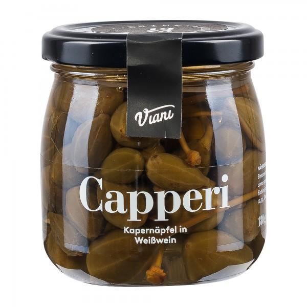 Capperi   Kapernäfpel in Weißwein