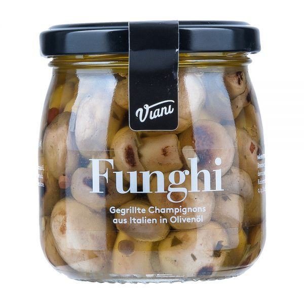Viani | Funghi | Gegrillte Champignons