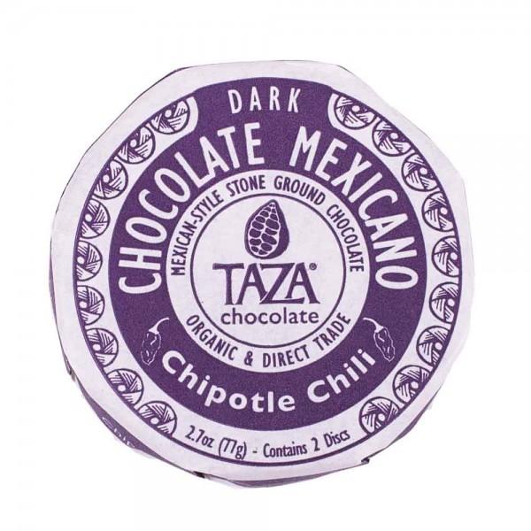 Taza Chocolate Dunkle Schokolade mit Chipotle Chili [BIO]