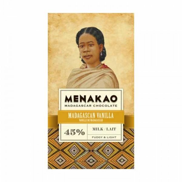 Menakao Milchschokolade mit Madagascar Vanille