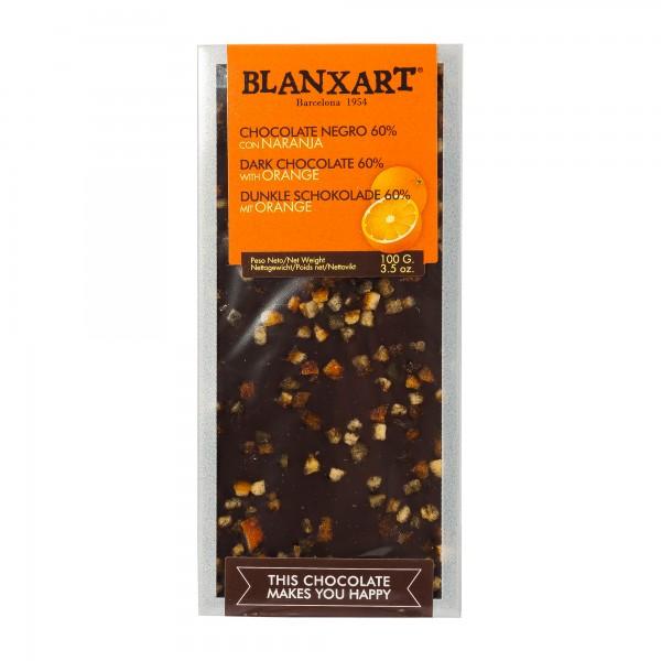 Blanxart Schokolade mit Orange