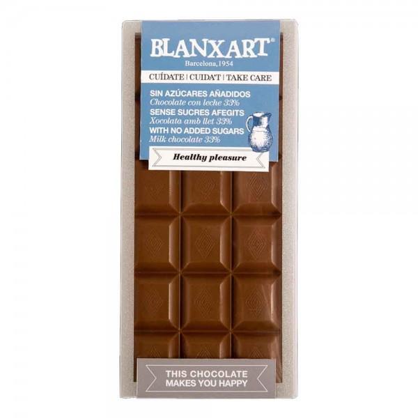 Blanxart Schokolade Vollmilch Zuckerfrei