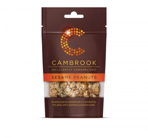 Cambrook | Sesam Erdnüsse karamellisiert