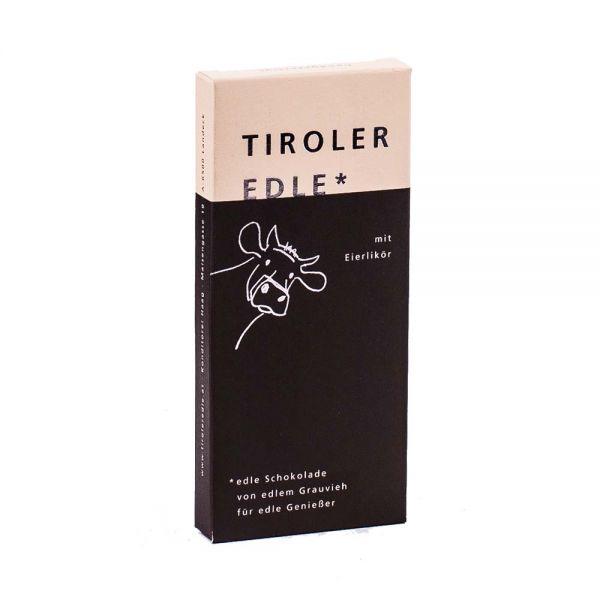 Tiroler Edle | Schokolade mit Eierlikör
