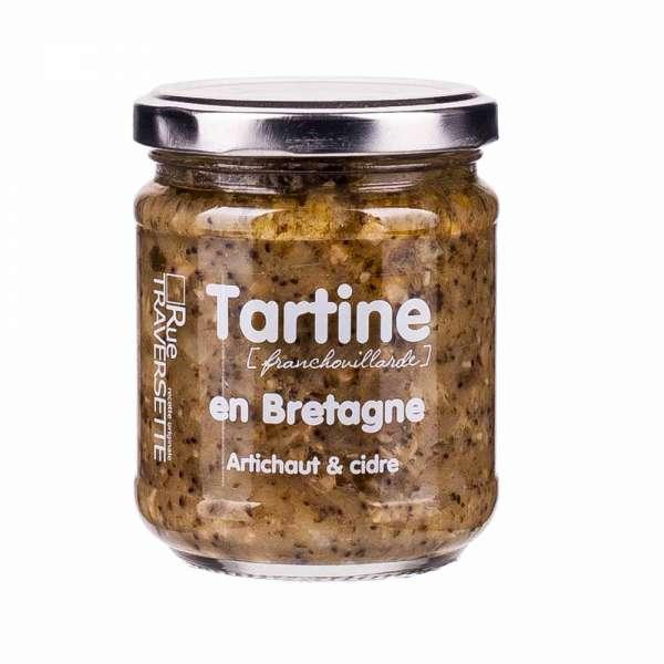 Rue Traversette Tartine Bretagne Artischocke und Cidre